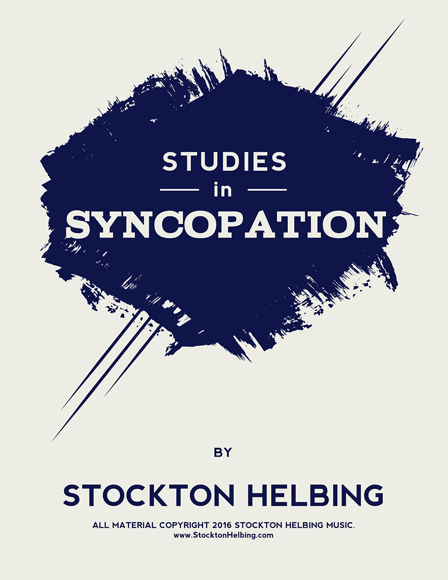 Studies in Syncopation by Stockton Helbin